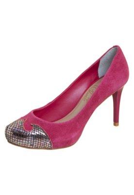 Sapato Scarpin Lilly's Closet Biqueira Recortada Rosa