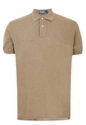 Camisa Polo Polo Ralph Lauren Classique Marrom