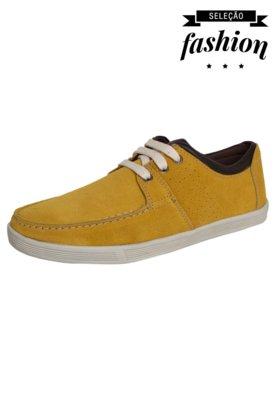 Sapatênis FiveBlu Cool Amarelo
