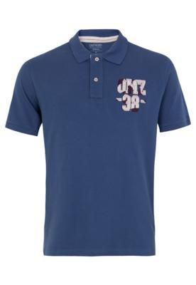 Camisa Polo Osmoze Style Azul
