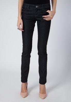 Calça Jeans Skinny Pink Connection SPike Preta