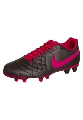 Chuteira Campo Nike Flare FG Cinza