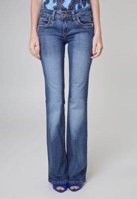 Calça Jeans Colcci Flare Katy Style Azul