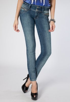 Calça Jeans Biotipo Skinny Mili Azul