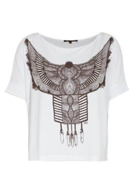 Blusa TNG Pássaro Branca