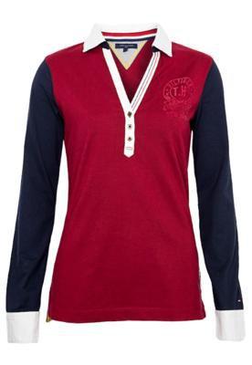Camisa Polo Tommy Hilfiger Karla Vinho