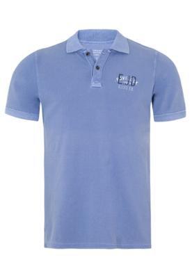 Camisa Polo Ellus Established Azul