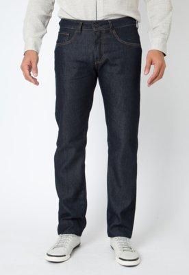 Calça Jeans Sommer Reta Rafael Contraste Azul