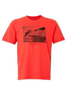 Camiseta Billabong Shark Vermelha