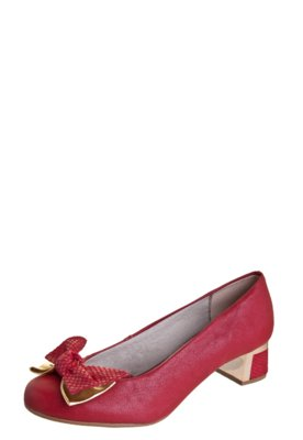 Sapato Scarpin Pink Conection Rede Jambo Vermelho - Pink Con...