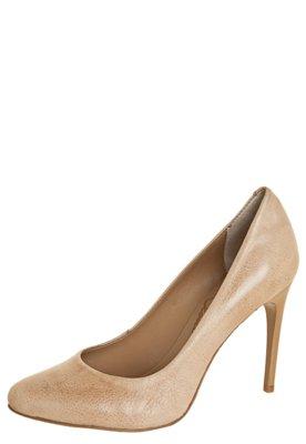 Sapato Scarpin Lilly's Closet Básico Salto Fino Bege