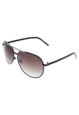 Óculos Solar Lucca Salvatore Recorte Azul