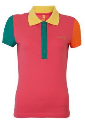 Camisa Polo Coca Cola Clothing Small Like Rosa