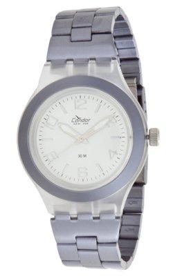 Relógio Condor KX25729B Unic Prata