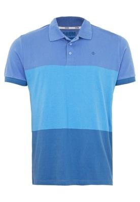 Camisa Polo Forum Muscle Live Azul