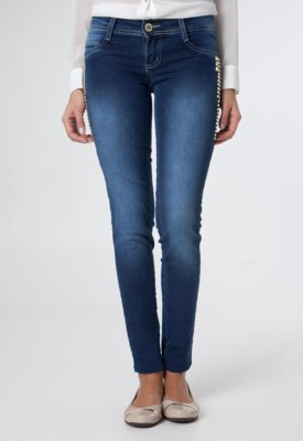 Calça Jeans Sawary Skinny Porto Azul
