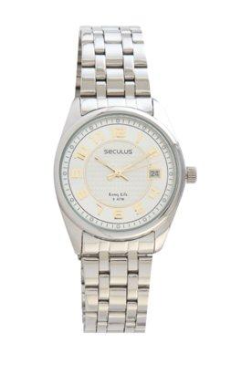 Relógio Seculus 28174L0SBNA1 Prata