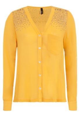 Blusa Cantão Geometria Amarela
