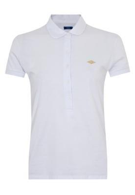 Camisa Polo Triton Justa Branca