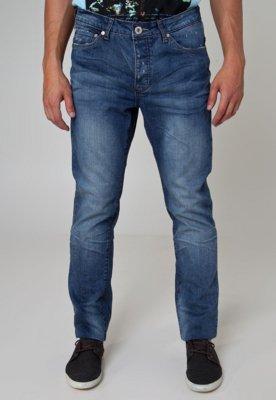 Calça Jeans Handbook Reta Hermeto Azul