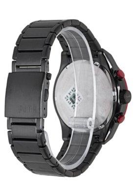 Relógio Puma Edge - L Preto/Vermelho