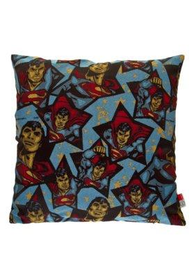 Capa de Almofada Lartex Warner DC Super Man Azul