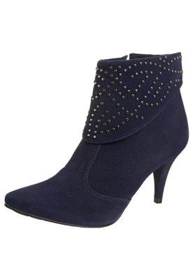 Ankle Boot Pala Hotfix Azul - Crysalis