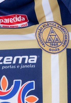Camisa Polo Aparecidense III 2012 N° 10 Azul - Super Bolla