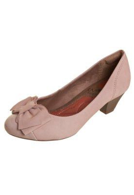 Sapato Scarpin Ramarim Total Comfort Biqueira Verniz Laço N...