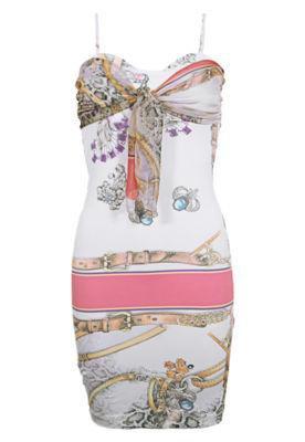 Vestido Lança Perfume Jóias Off White