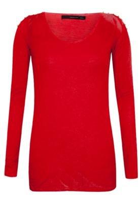Blusa Calvin Klein Jeans Urban Vermelha