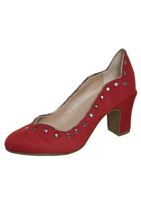 Sapato Scarpin FiveBlu Hotfix Vermelho