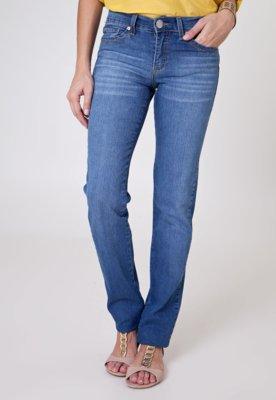 Calça Jeans Sacada Reta Girls Azul