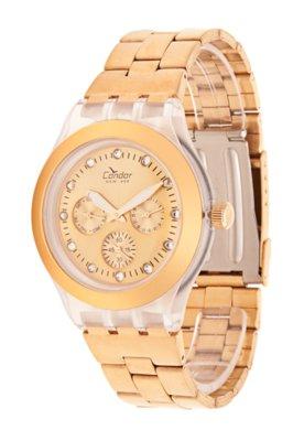Relógio KZ85001E Condor Dourado