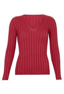 Blusa Tricô Clean Vermelho - Mercatto