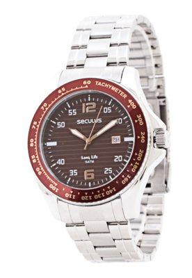 Relógio Seculus 28220G0SBNA2 prata