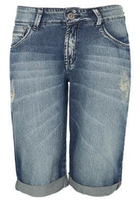 Bermuda Jeans Osmoze Middle Plus Azul
