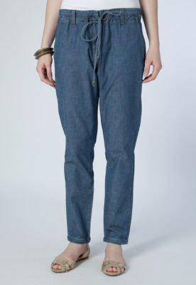 Calça Jeans Reta Carmim Lana Azul