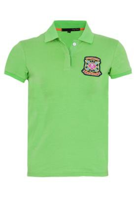 Camisa Polo Pop Touch Rugby League Verde