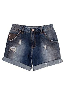 Bermuda Jeans Sacada SPike Azul