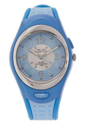 Relógio Cosmos OS48667A Azul
