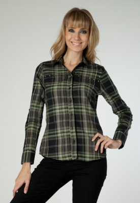 Camisa Modern Xadrez - Pop Touch