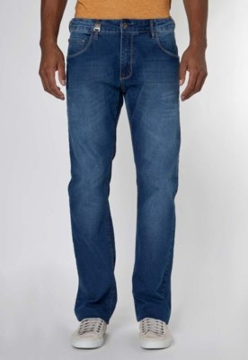 Calça Jeans Forum Paul Indigo Bord Azul