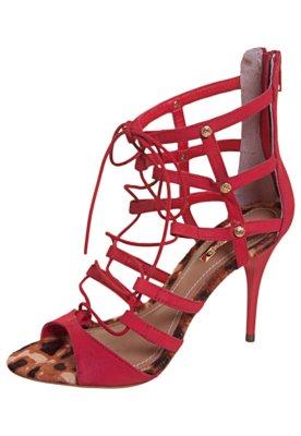 Sandália Dumond Gladiadora Amarração Vermelha