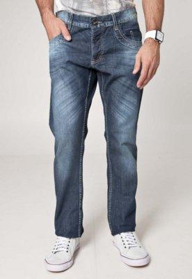 Calça Jeans Sawary Reta Modern Azul