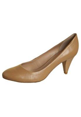 Sapato Scarpin Lilly's Closet Salto Médio Básico Bege