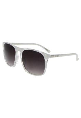 Óculos Solar Abstrato Branco - FiveBlu