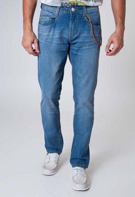 Calça Jeans Carmim Reta Street Azul