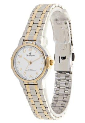 Relógio Champion CH25338B Prata/Dourado