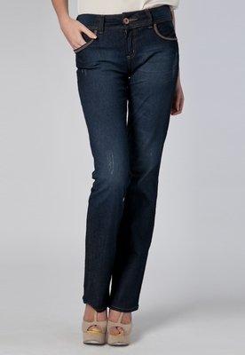 Calça Jeans Reta Fatima Azul - Colcci